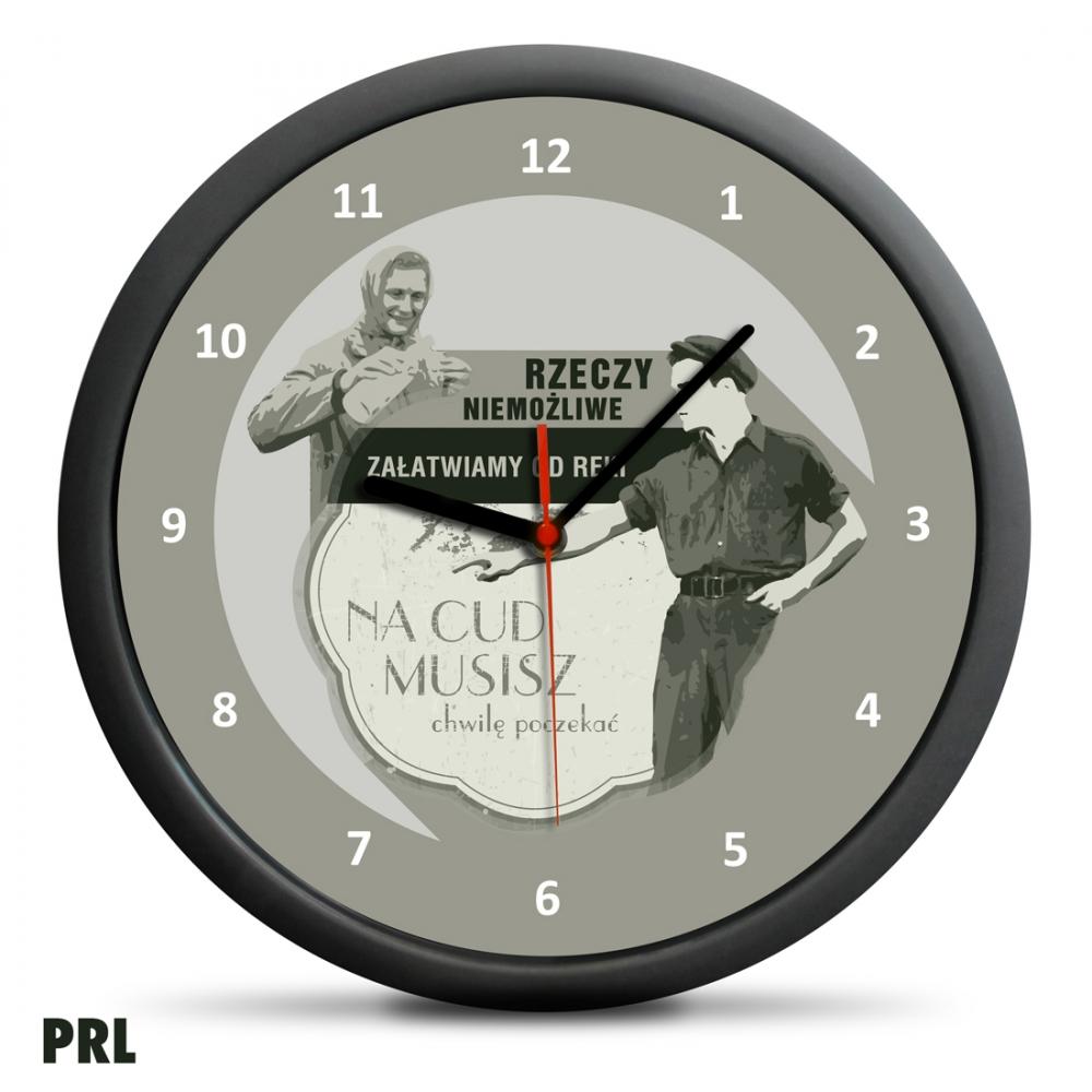 Zegar Retro - Rzeczy niemożliwe - PRL