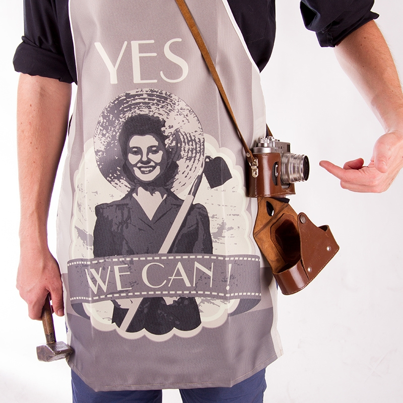 Retro Apron - Yes we can