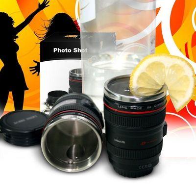 Photo Shot - kieliszek obiektyw