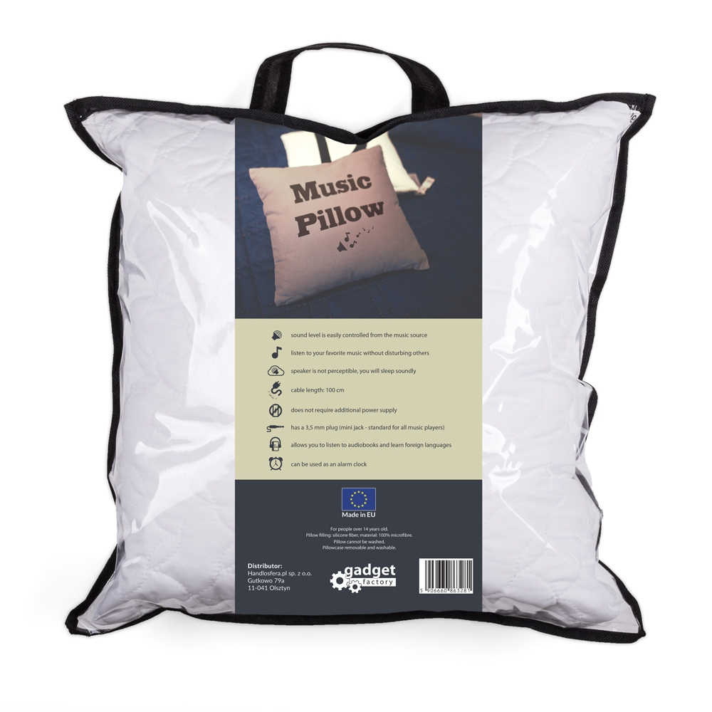 Music pillow wholesale gadgets global for Music speaker pillow