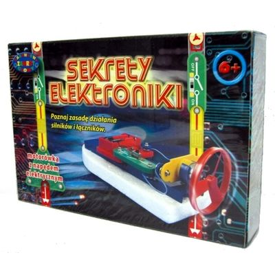 Sekrety elektroniki - motorówka