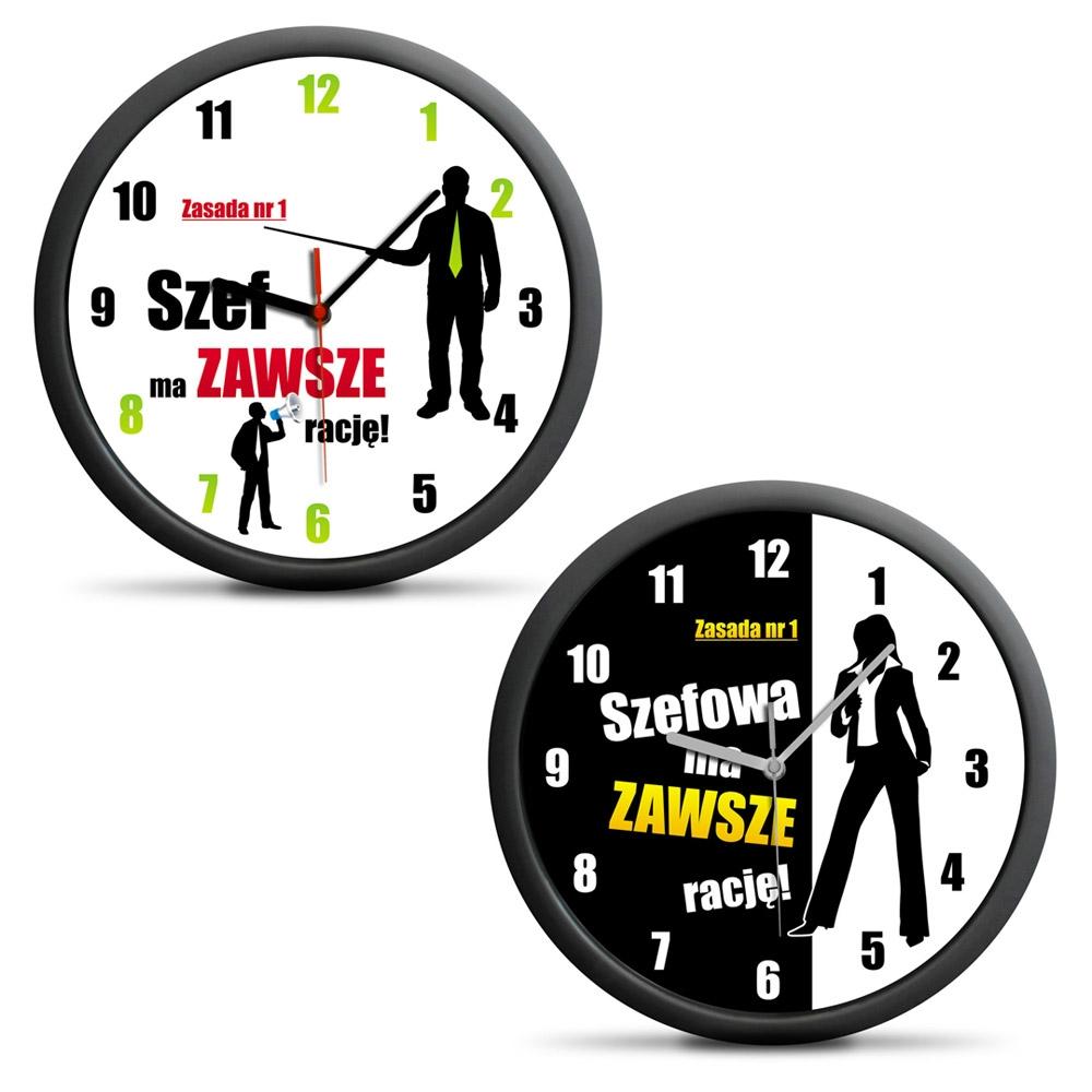 Zegar dla szefa/szefowej