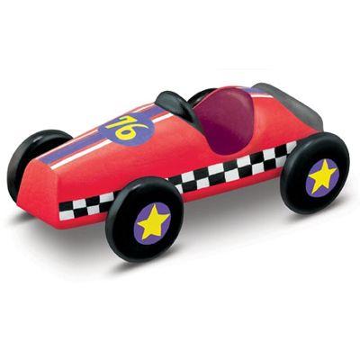 Gipsowa wyścigówka