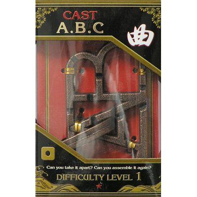 Łamigłówka Cast ABC - poziom 1/6
