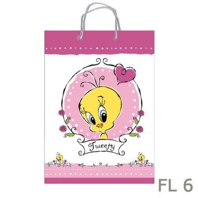 Torebki prezentowe Looney Tunes - średnie - FL 6