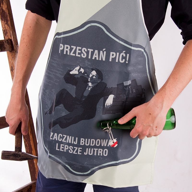 Fartuszek Retro - Przestań pić