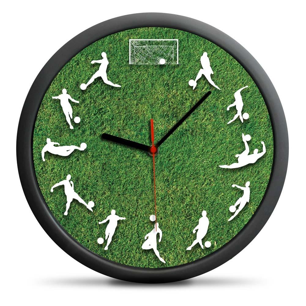 Zegar Piłkarza - cichy mechanizm