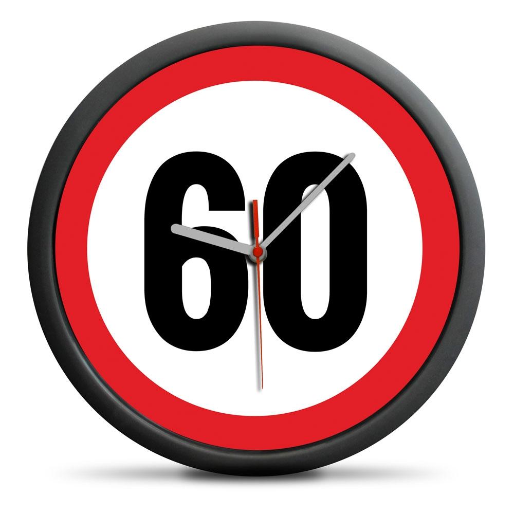 Zegar urodzinowy 60 - Przekrocz limit