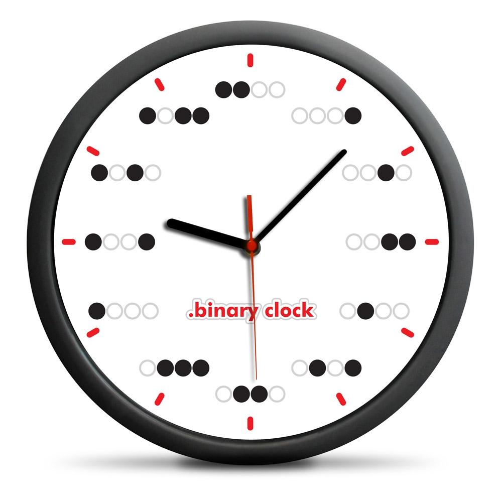 Zegar binarny - Kropki