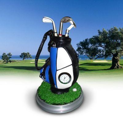 Torba golfowa z zegarkiem
