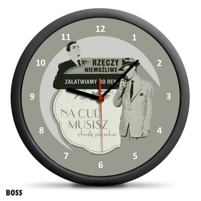 Zegar Retro - Rzeczy niemożliwe - Boss