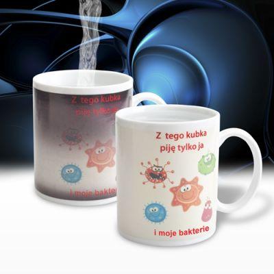 Demotywujący kubek - Bakterie