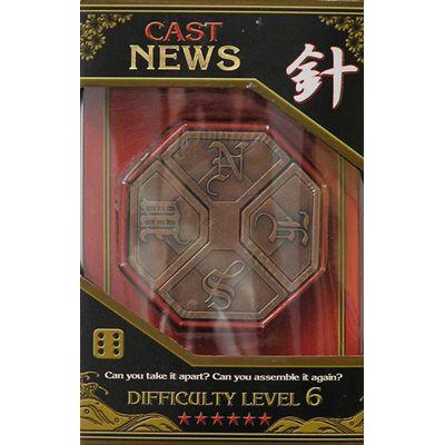 Łamigłówka Cast News - poziom 6/6