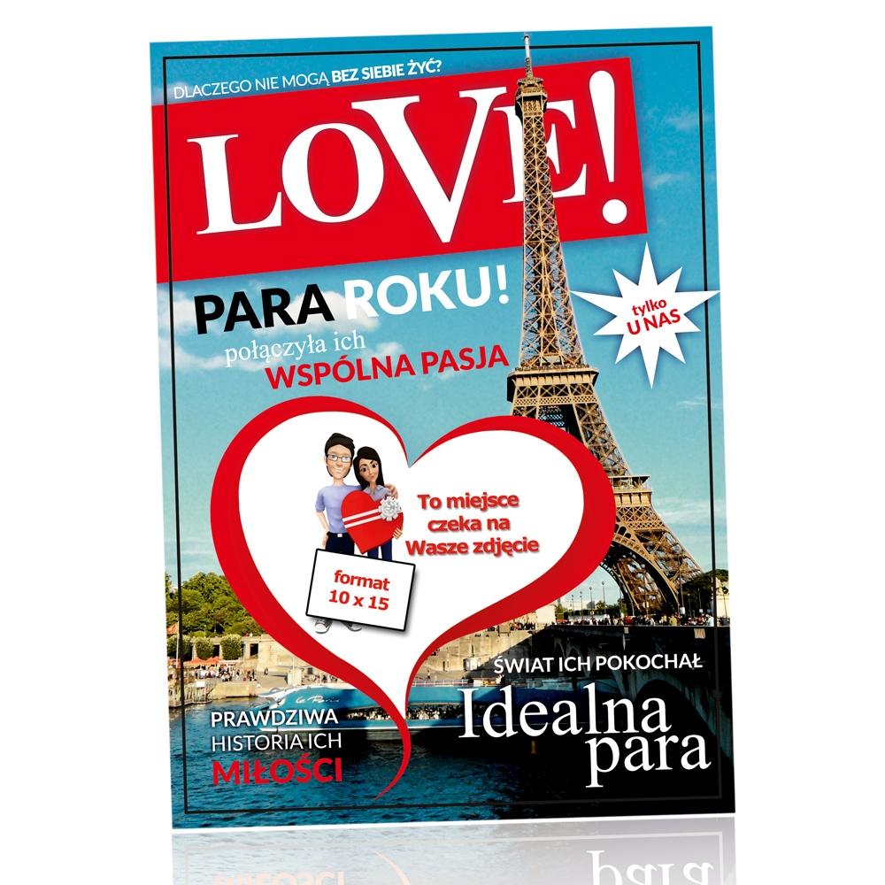Ramka na zdjęcia LOVE (PL) - pakiet 5szt