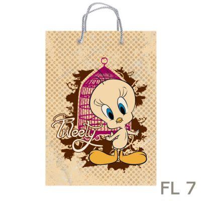 Torebki prezentowe Looney Tunes - średnie - FL 7