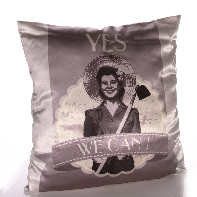 Pillow Retro - Yes<br>we can