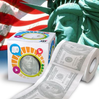 Toilet paper $ 100