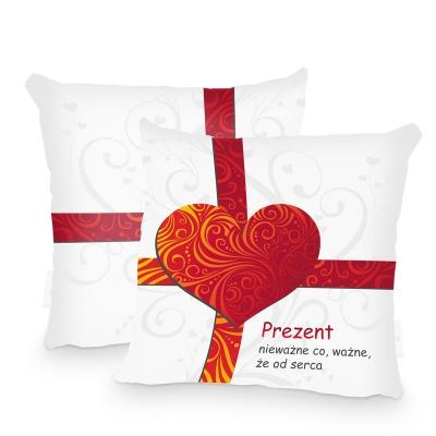 Poszewka - prezent od serca