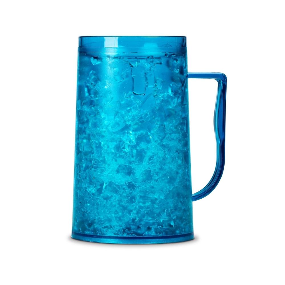 Lodowy Kufel FROSTER 500ml - Niebieski żel