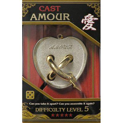 Łamigłówka Cast Amour - poziom 5/6