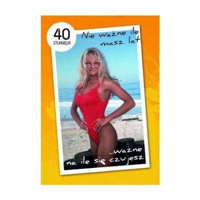 Torebka - 40-stka dla niej - Średnia