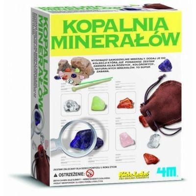 Wykopaliska - minerały