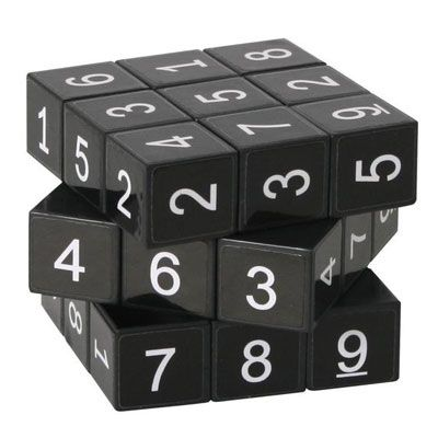 Kostka sudoku - bez pudełka