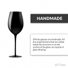 Case with wine glasses diVinto - Black