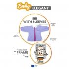 Baby Elegant - Bib with sleeves