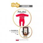 Baby Driver - Pajac - Czerwony - Rozmiar 86