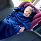 Baby Wrapi Active - Kocyk z rękawami - Granatowy