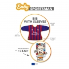 Baby Sportsman - Bib with sleeves