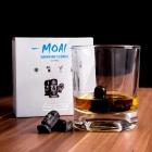 Kamienie Moai do Drinków