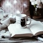 Zaskakujący Kubeczek - Kotek - Czerwony