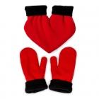 Love gloves - Red heart