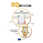 Baby Artist - Bib with sleeves