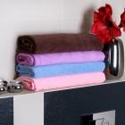 Ręczniko-Szlafrok - Brązowy