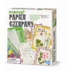 Recykling - papier czerpany