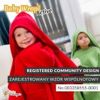 Baby Wrapi Active - Blanket with sleeves - Modrý