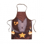 Baby Sheriff - bib and apron