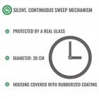 Car Clock - silent mechanism