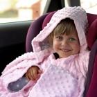 Baby Wrapi - Kocyk z rękawami - Różowy