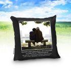 Demotywująca poduszka - prawdziwa miłość (foto)