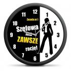 Clock for manageress (PL) - silent mechanism