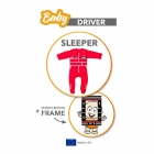 Baby Driver - Sleeper - Red size 86