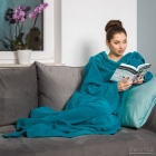 Blanket dressing gown - Blue