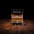 Szklanka do whisky Valentine's Day