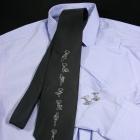 Krawat z instrukcją