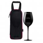 Giant Wine Glass diVinto - Who cares - Black