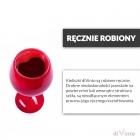 Zakochany Kieliszek diVinto - Czarny